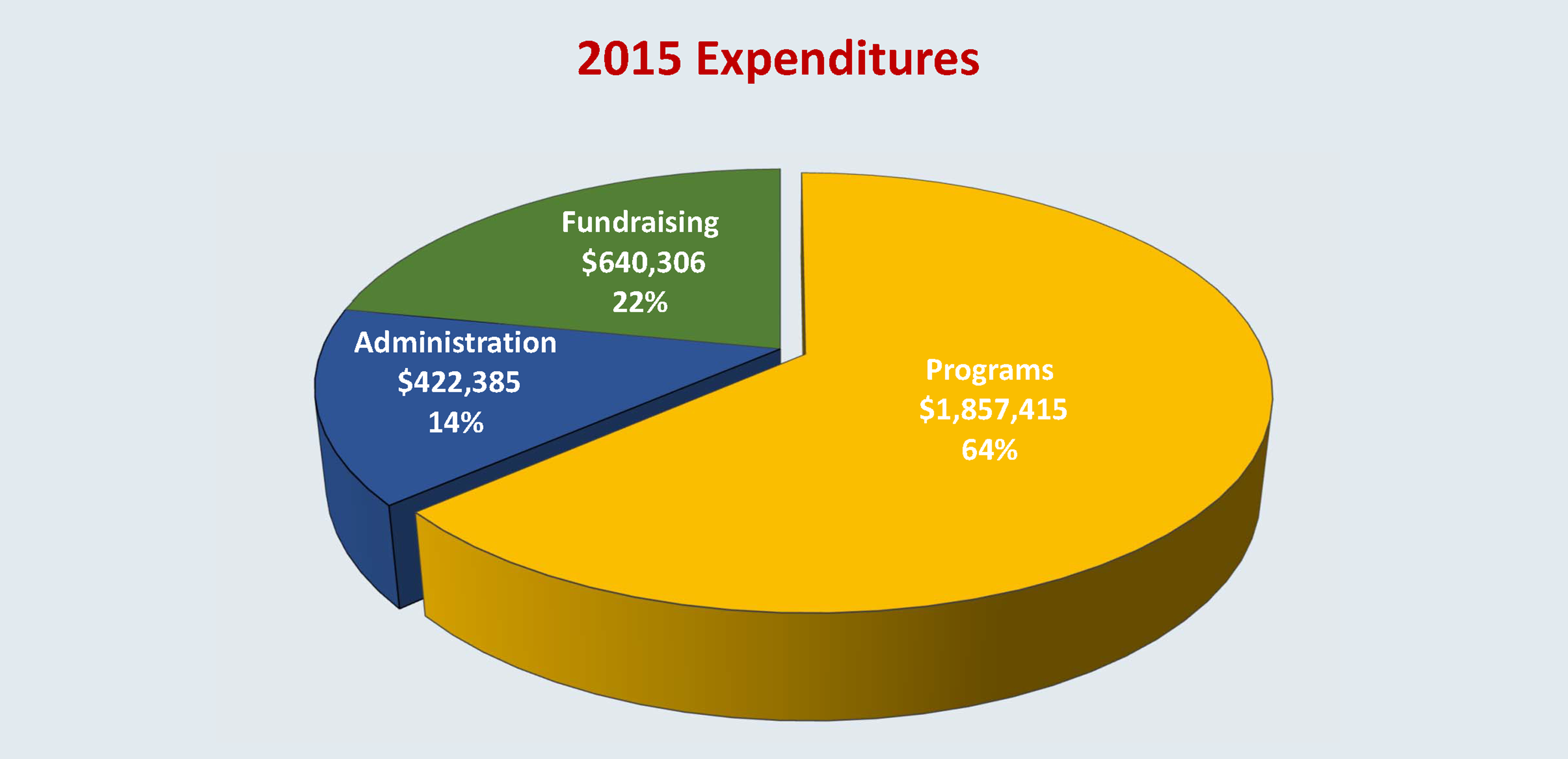 2015 Chart of Expenditures
