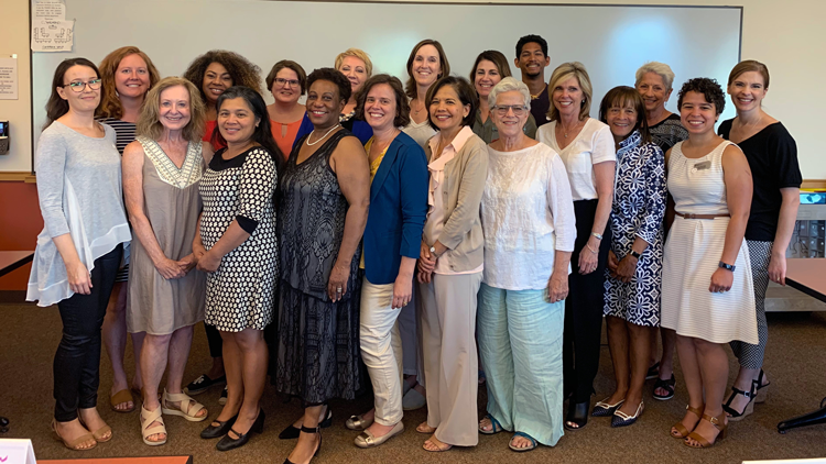 2019/20 Direct-Service Grantmaking Committee group photo