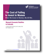 The Cost if Failing to Invest in Women 2020: research thumbnail