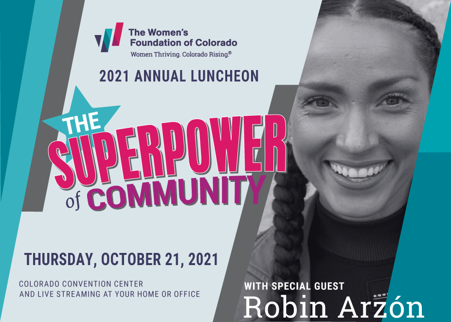 2021 Annual Luncheon image: The Superpower of Community with special guest Robin Arzon