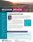 2021 Mission Driven spring newsletter thumbnail