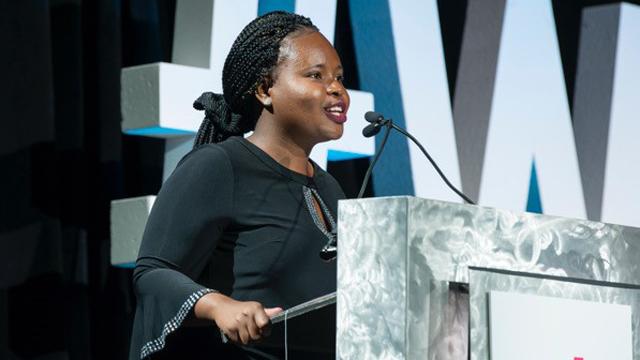 Ananda Birungi 2019 Dottie Lamm Award Winner