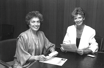 Anna Jo Haynes and former First Lady of Colorado Dottie Lamm