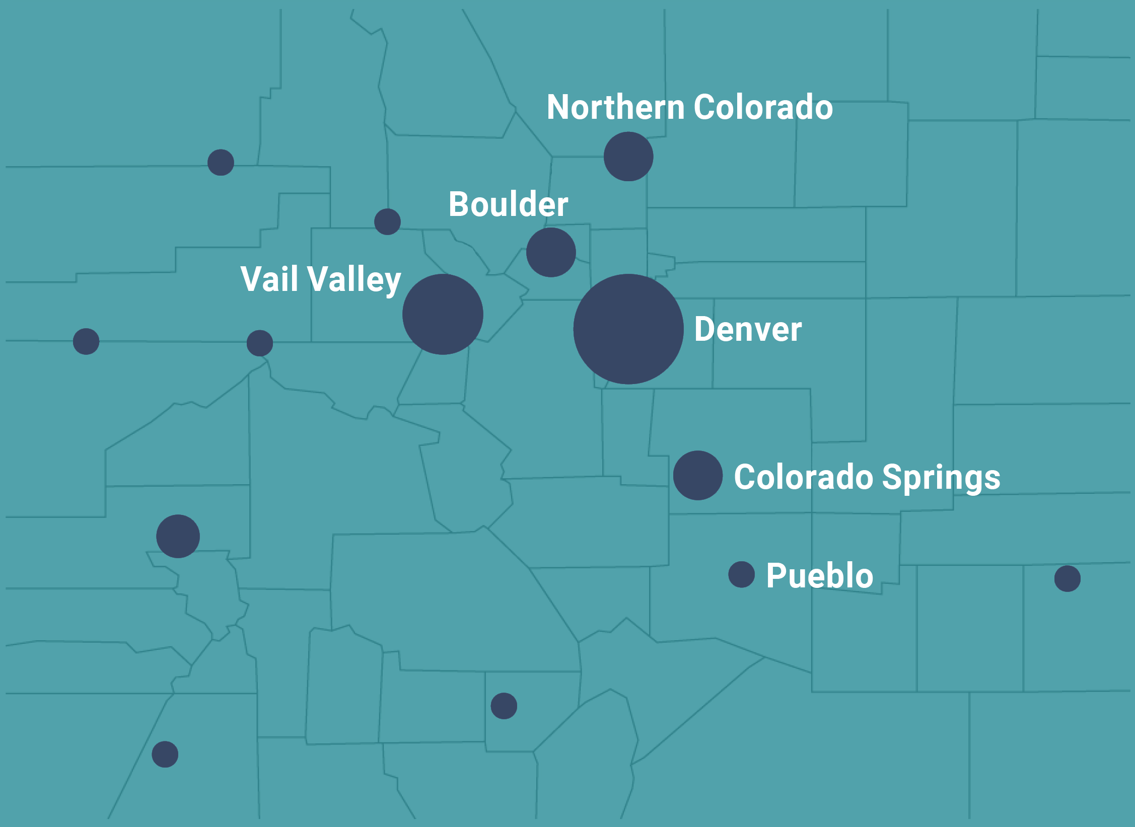 Colorado Statewide Grantee Map