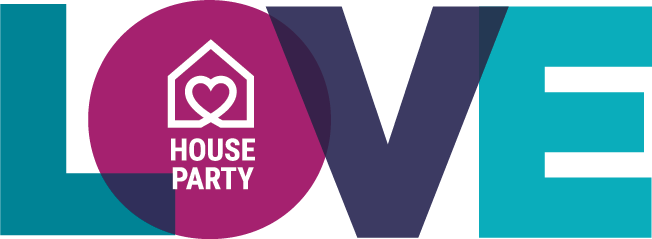 2020 Annual Luncheon LOVE House Party logo