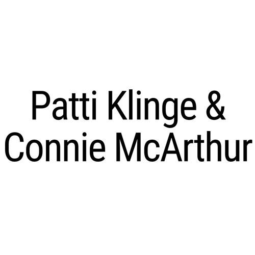 Patti Klinge and Connie McArthur