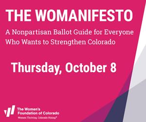 Join Us on Thursday, October 8 for Womanifesto 2020 debut webinar