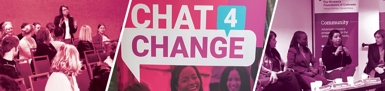 Chat4Change collage banner