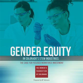 Gender Equity in Colorado's STEM Industries Report