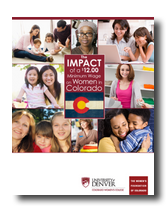 The Impact of a $12.00 Minimum Wage on Colorado Women Cover