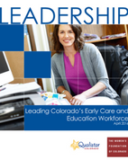 Leading Colorado's Early Care and Education Workforce Cover