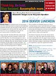 Fall Luncheon Newsletter 2014