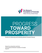 Progress Toward Prosperity 2017-2021 Strategic Plan Cover