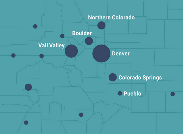 Vail Colorado Map State.Statewide The Women S Foundation Of Colorado
