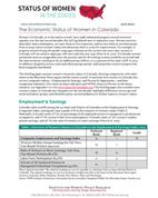 Status of Women in Colorado 2015 Report