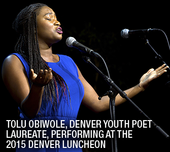 Tolu Obiwole 2015 Denver Luncheon