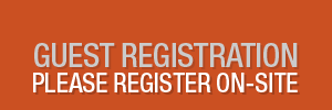 Guest Registration Closed, Please Register On-Site